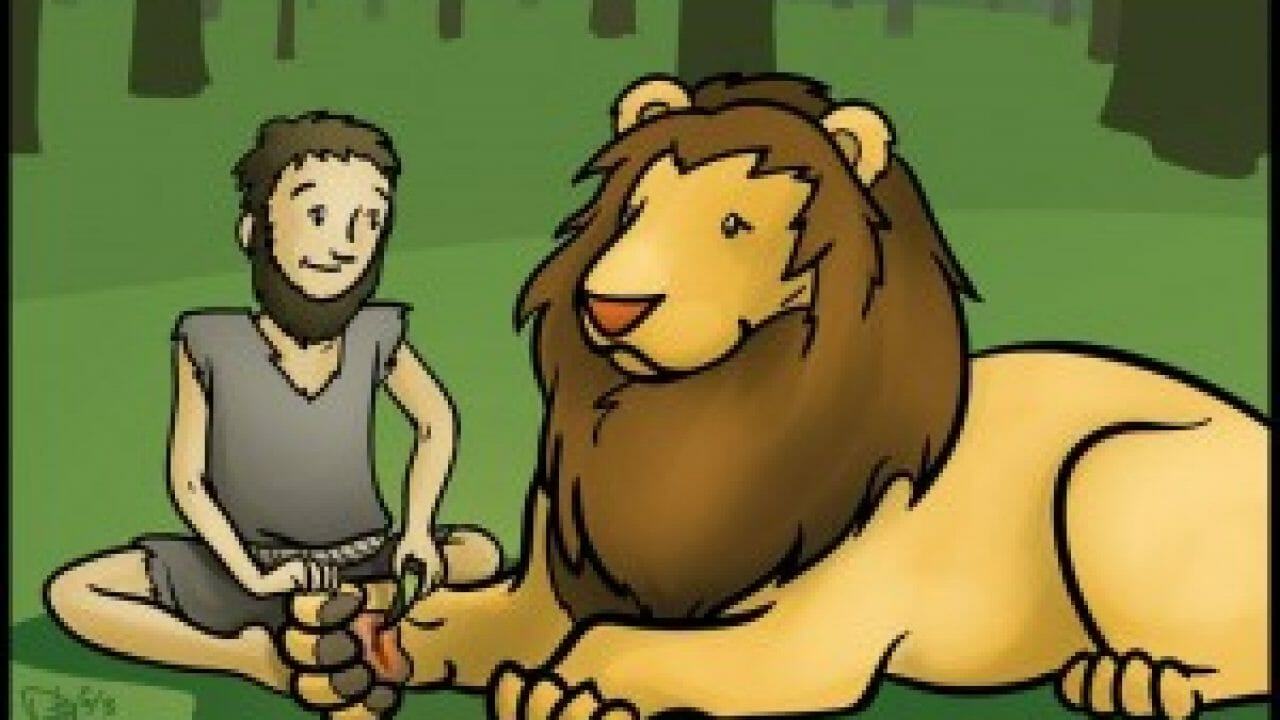 The Slave and The Lion Short Stories for Kids and Students